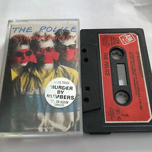THE POLICE - SYNCHRONICITY - TAPE CASSETTE ALBUM
