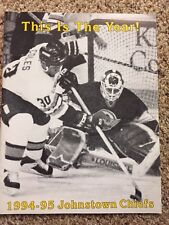 Vtg 1994-95 Season Johnstown Chiefs Yearbook Magazine ECHL Minor League Slapshot