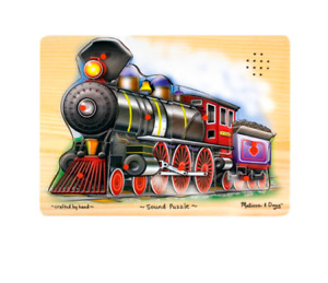 BRAND NEW Melissa and Doug Train Sound Puzzle -- ALL ABOARD!!!
