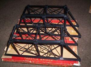 2 Plasticville Trestle Bridges with Original Boxes