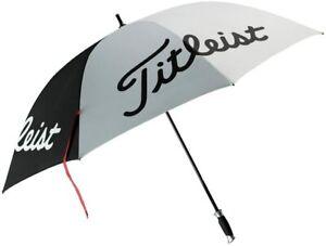 "NEW Titleist Golf Professional Single Canopy 57"" Umbrella - Black/White"