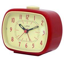 Leni Retro Alarm Clock 11cm (W)