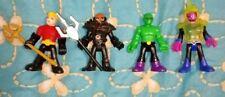 Imaginext/DC Super Friends/Lot of 4/Aquaman/Black Manta/Martian Manhunter/Sinest