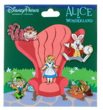 2019 Disney Alice in Wonderland Booster Set of 5 Pins