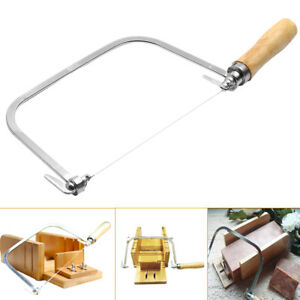 Soap Loaf Wire String Cutter Saw Candle Wax Slice Making + 5 Wire Strings 30CM