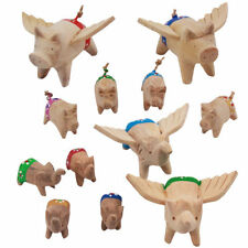 Wood Animals Bugs Decorative Sculptures & Figurines