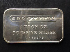 1972 Engelhard Industries Commercial Silver Art Bar EI-1A A4311