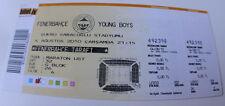 old ticket CL Fenerbahce Istanbul Young Boys Bern 2010 Turkey Switzerland