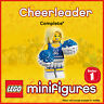 GENUINE Lego Collectable Minifigures Series 1 Cheerleader col01-02 8683