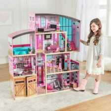 Kidkraft Shimmer Mansion Dollhouse | Wooden Dollhouse Fits Barbie Sized Dolls