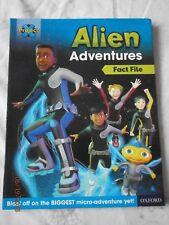 Oxford Alien adventures Project X book alien adventures fact file