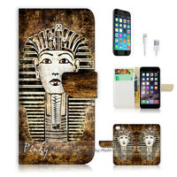 ( For iPhone 7 Plus ) Wallet Case Cover P1441 Egypt Queen