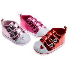 Soft Touch chaussures bébé basket montante rose, rouge,fuschia  fille 0 à12 mois