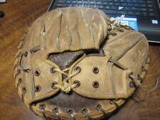 Vintage 40s MacGregor Goldsmith Leather Baseball Glove Catchers Mitt 2231204