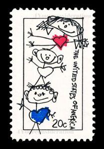 1984 Scott #2104 .20¢ FAMILY UNITY - F/VF-MNH OG - FREE SHIP!