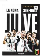 LIBRO BOOK OFFICIAL FC JUVENTUS JUVE LA NONA SINFONIA 9 GAZZETTA 2019/2020