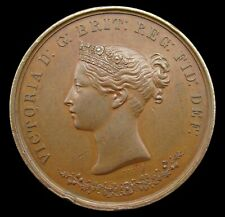 More details for india 1867 provincial exhibition medal of honor 43mm medal - by wyon