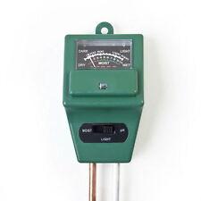 3 in 1 PH Tester Soil Water Moisture Light Test Meter for Garden Plant Flowers