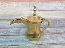 BRASS TURKISH ISLAMIC Tea Pot Coffee Jug Pourer Beautifull Decorative 27 X 30cm