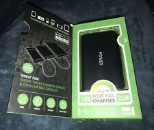 SENTRY POWER UNIVERSAL BATTERY CHARGER 120 HOURS MUSIC iPHONES ANDROID IPOD NEW