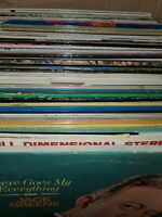 Lot Of 5 Random Records! Vintage Collection Of Gospel Albums And Hymns 33rpm LP