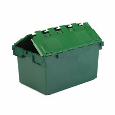 More details for vfm green 25 litre plastic container with lid 306579