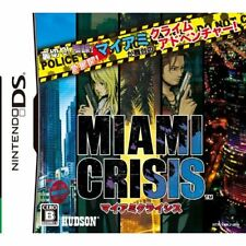 Used DS Miami Crisis Japan Import