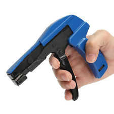 MIni Kabelbinderzange, Kabelbinderpistole, Kabelbinder Blau Werkzeug Einstellbar