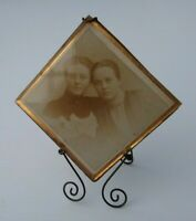 """Vintage Photo With Frame And Glass 3"""" x 3"""""""