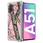 Case For [Samsung Galaxy A51 /A51 4G][Clear Bumper SET13] Slim Flexible Cover