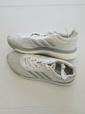 ADIDAS BOOST RUNNING SHOES Grey / White (MEN'S 8.5)