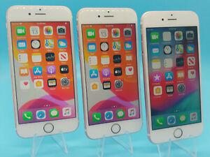 3 UNIT Apple iPhone 6s - 16GB Rose Gold (Unlocked) A1688 (CDMA + GSM) iOS LTE 4G