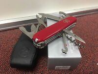 SWISS ARMY KNIFE, CLIMBER RED BOXED, VICTORINOX, Pouch, MODEL 55381