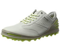 Ecco Cage Pro Mens Golf Shoes Leather Gore-tex Water Proof