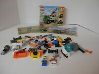 Lego 31043-Complete? 2 Mini Figs-Comes Only With What Is Shown-Free Shipping