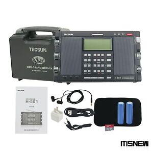 For Tecsun Radio H-501 Dual-Speaker Full Band Music Player Bluetooth Speaker