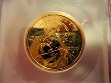 2000-P Sacagawea Dollar ICG Certified Presentation Piece to Glenna Goodacre