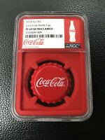 2020 COCA-COLA BOTTLE CAP COIN ISRAELI LANGUAGE NGC PF70 FIRST RELEASES
