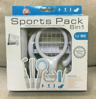 Wii Sports Pack 6 in 1 BRAND NEW Wii Motion Plus Compatible