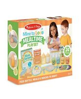 Melissa & Doug Mine to Love Mealtime Playset 24 Pieces Time to Feed Baby