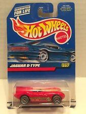 MIP! 1999 Hot Wheels Red ~ Jaguar D-Type ~ #997