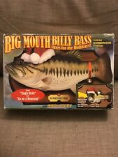 New (other)Big Mouth Billy Bass Sings For The Holidays Motion Activated