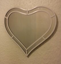 White Heart mirror. Unique item