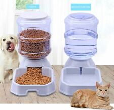 3.8L Large Automatic Pets Food Drink Dispenser Cat Dog Feeder Water Dish Bowl