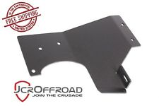 JCR Offroad Exhaust Loop Skid Plate - Black PC - 12-17 Jeep Wrangler JK JKU