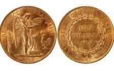 100 francs Or 1910 Genie TB