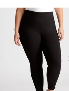 Ladies AUTOGRAPH Plus size 20 Black Ponte legging pants  NEW RRP$69.99