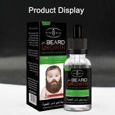 NATURAL FACIAL HAIR GROWTH TREATMENT GROW MUSTACHE BEARD EYEBROWS FAST 40ML