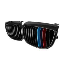 BLACK M-COLOR KIDNEY GRILLES GRILL FOR BMW E81 E87 E88 1 SERIES 04-07 116i