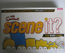 The Simpsons Scene It DVD Trivia Board Game Checked 100% Complete Free Post